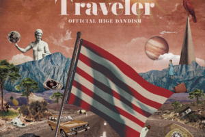 Official髭男dism (オフィシャルヒゲダンディズム) メジャー1stアルバム『Traveler (トラベラー)』(初回盤) 高画質CDジャケット画像 (ジャケ写)