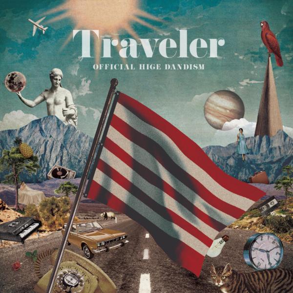 Official髭男dism (オフィシャルヒゲダンディズム) メジャー1stアルバム『Traveler (トラベラー)』(2019年10月9日発売) 高画質CDジャケット画像 (ジャケ写)