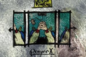 King Gnu (キングヌー) 1stシングル『Prayer X (プレイヤー・エックス)』(2018年9月19日発売) 高画質CDジャケット画像 (ジャケ写)