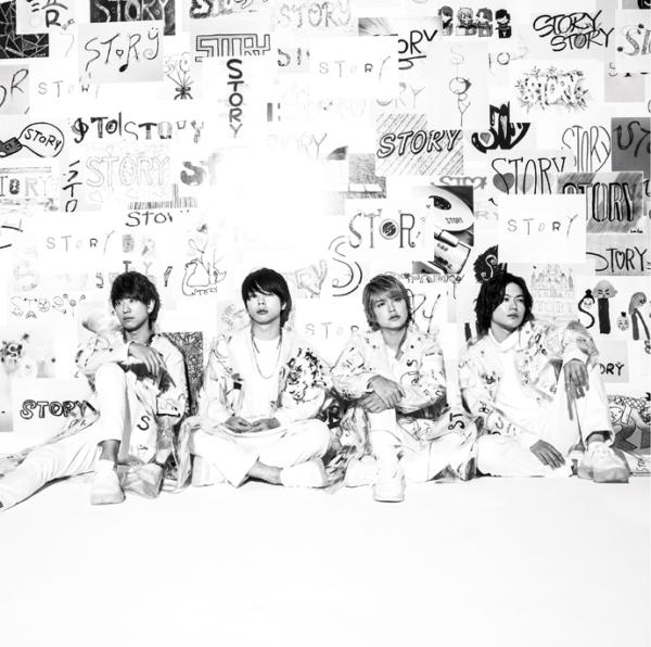 NEWS (ニュース) 11thアルバム『STORY (ストーリー)』(通常盤) 高画質CDジャケット画像 (ジャケ写)