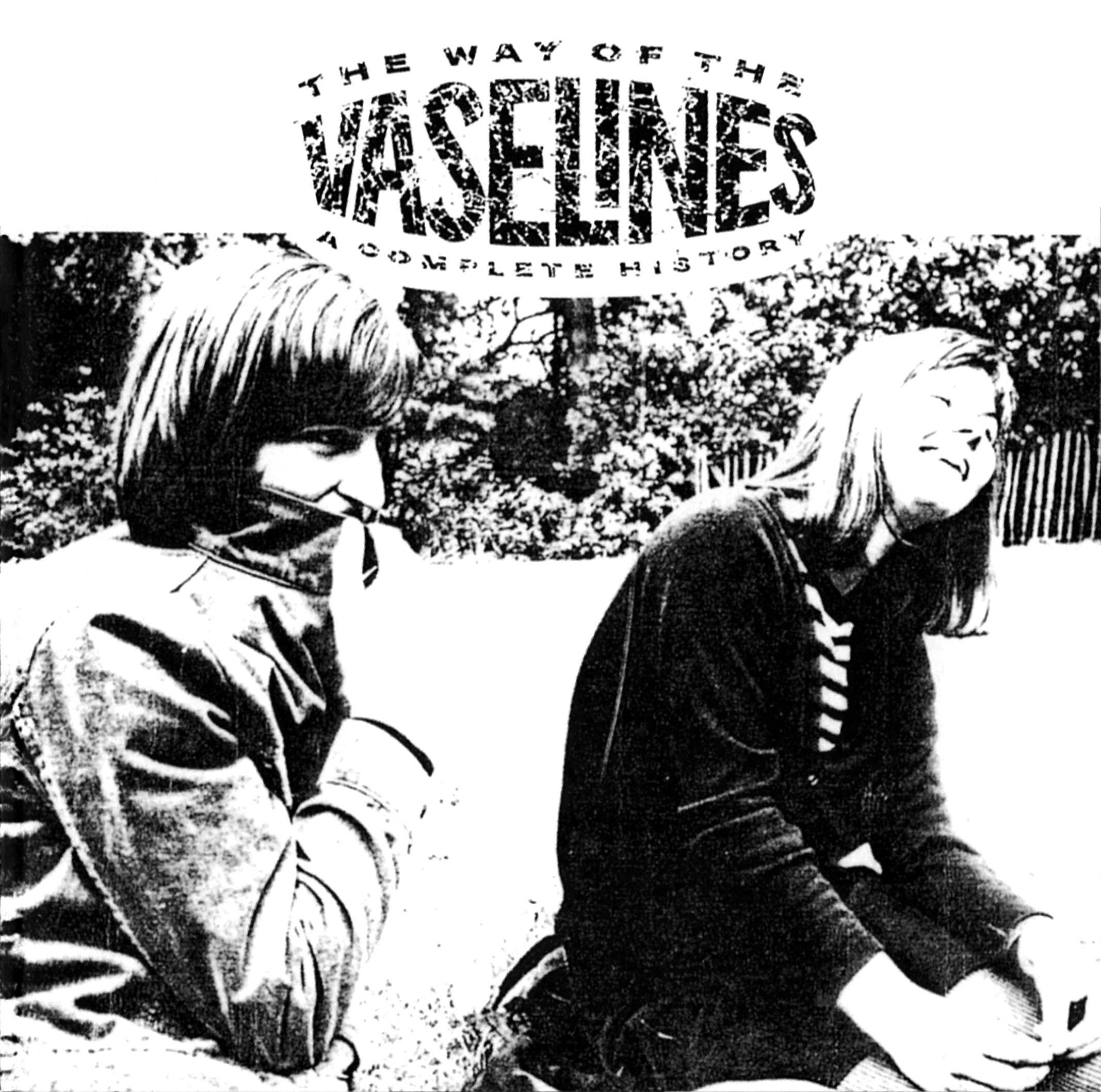 VASELINES (ヴァセリンズ) ベストアルバム『THE WAY OF THE VASELINES A COMPLETE HISTORY』(1998年12月23日発売) 高画質CDジャケット画像 (ジャケ写)