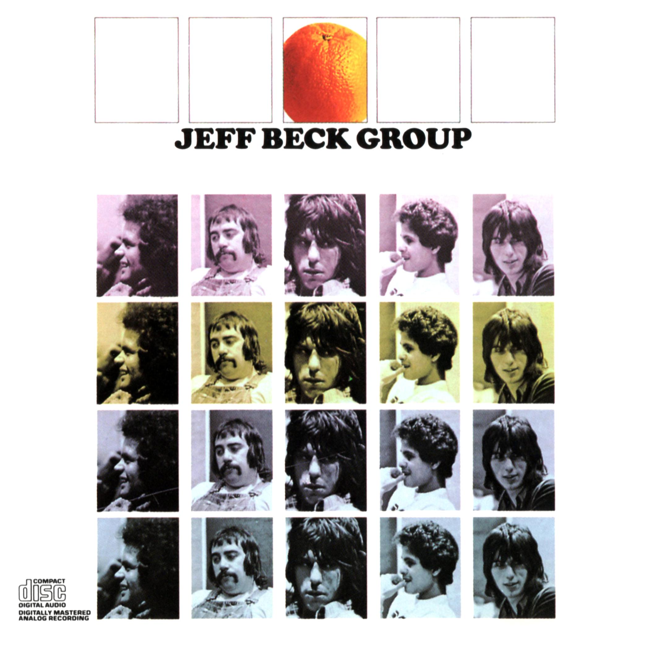 JEFF BECK GROUP (ジェフ・ベック・グループ)『JEFF BECK GROUP (ジェフ・ベック・グループ)』(US盤) 高画質CDジャケット画像