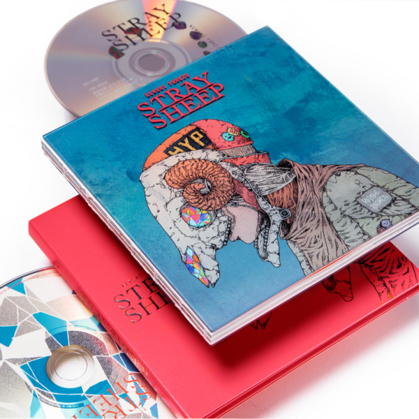 米津玄師 (よねづけんし) 5thアルバム『STRAY SHEEP (ストレイ・シープ)』(アートブック盤) 高画質CDジャケット画像