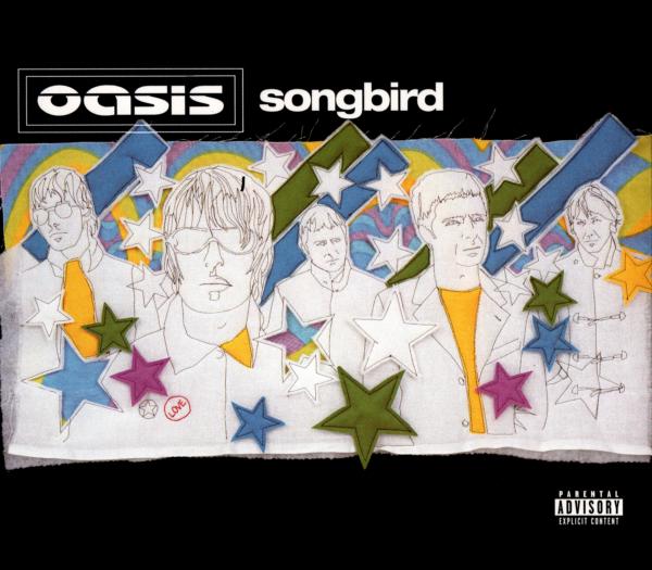 oasis (オアシス) シングル『Songbird (ソングバード)』(2003年発売) 高画質CDジャケット画像 (ジャケ写)