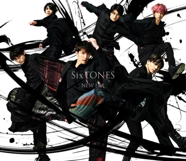 SixTONES (ストーンズ) 3rdシングル『NEW ERA』(通常盤 初回仕様スリーブケース) 高画質CDジャケット画像 (ジャケ写)