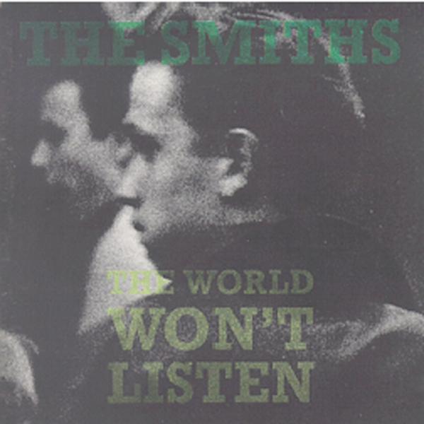 THE SMITHS (ザ・スミス) コンピレーション・アルバム『THE WORLD WON'T LISTEN (ザ・ワールド・ウォント・リッスン)』高画質ジャケット画像 (ジャケ写)