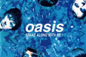 oasis (オアシス) ブート盤 ライブ盤『SHAKE ALONG WITH ME!』(1994年発売) 高画質CDジャケット画像 (ジャケ写)