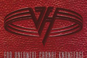 Van Halen (ヴァン・ヘイレン) 9thアルバム『For Unlawful Carnal Knowledge (F@U#C%K)』(1991年6月17日発売) 高画質CDジャケット画像 (ジャケ写)
