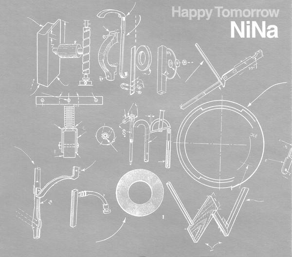 NiNa (ニナ) 1stシングル『Happy Tomorrow (ハッピー・トゥモロー)』(1999年7月14日発売) 高画質CDジャケット画像 (ジャケ写)