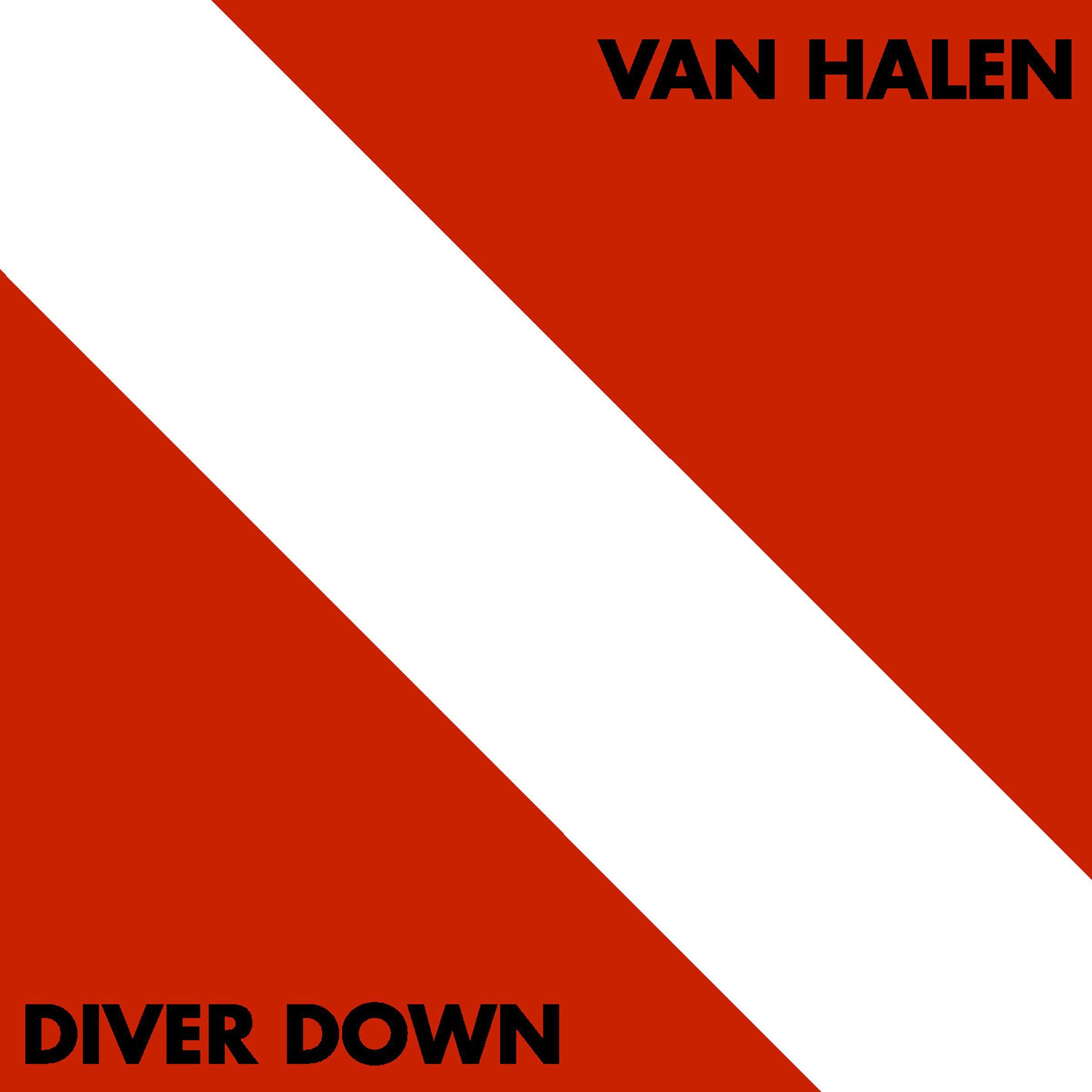 Van Halen (ヴァン・ヘイレン) 5thアルバム『Diver Down (ダイヴァー・ダウン)』(1982年4月14日発売) 高画質CDジャケット画像 (ジャケ写)
