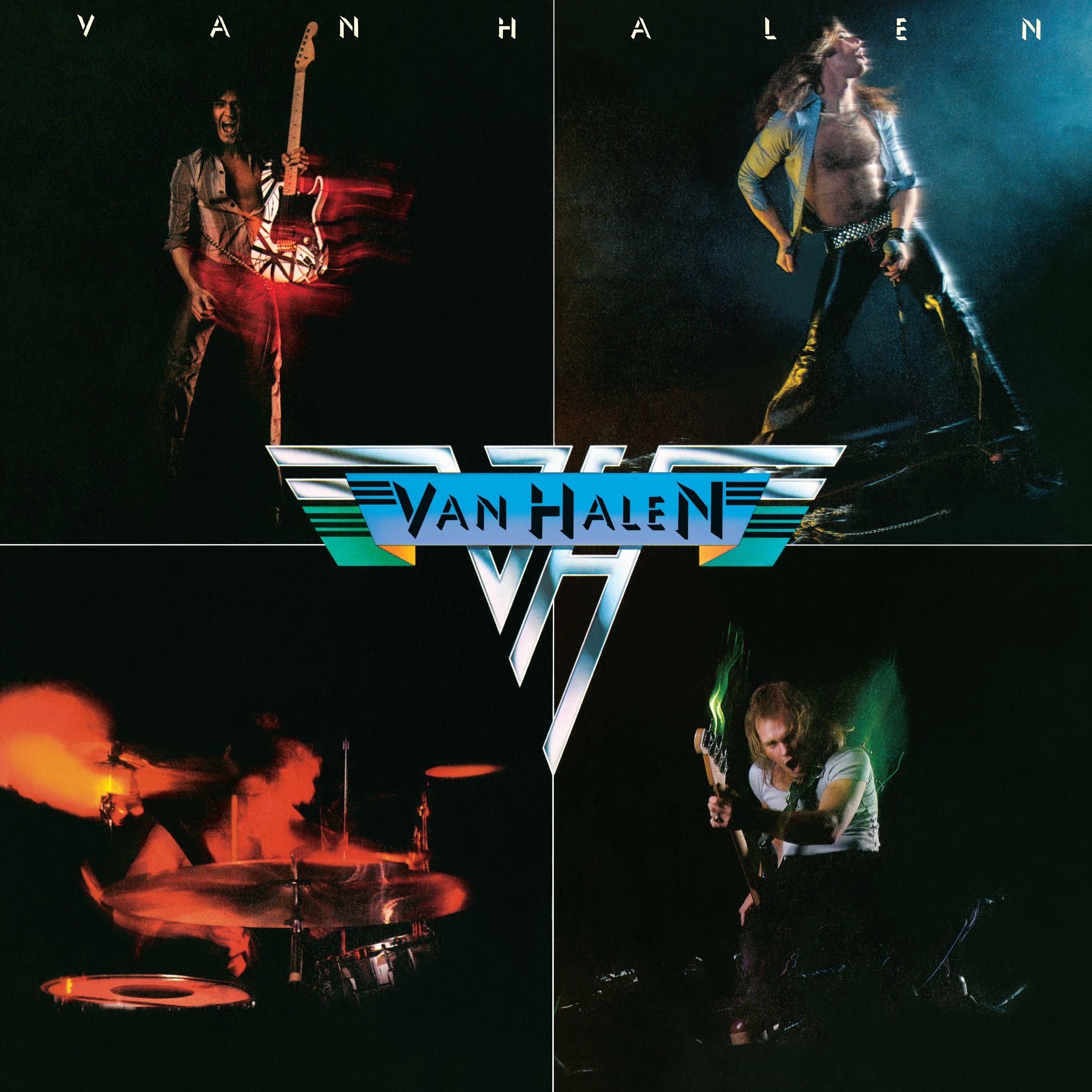 Van Halen (ヴァン・ヘイレン) 1stアルバム『Van Halen (炎の導火線)』(1978年2月10日発売) 高画質CDジャケット画像 (ジャケ写)