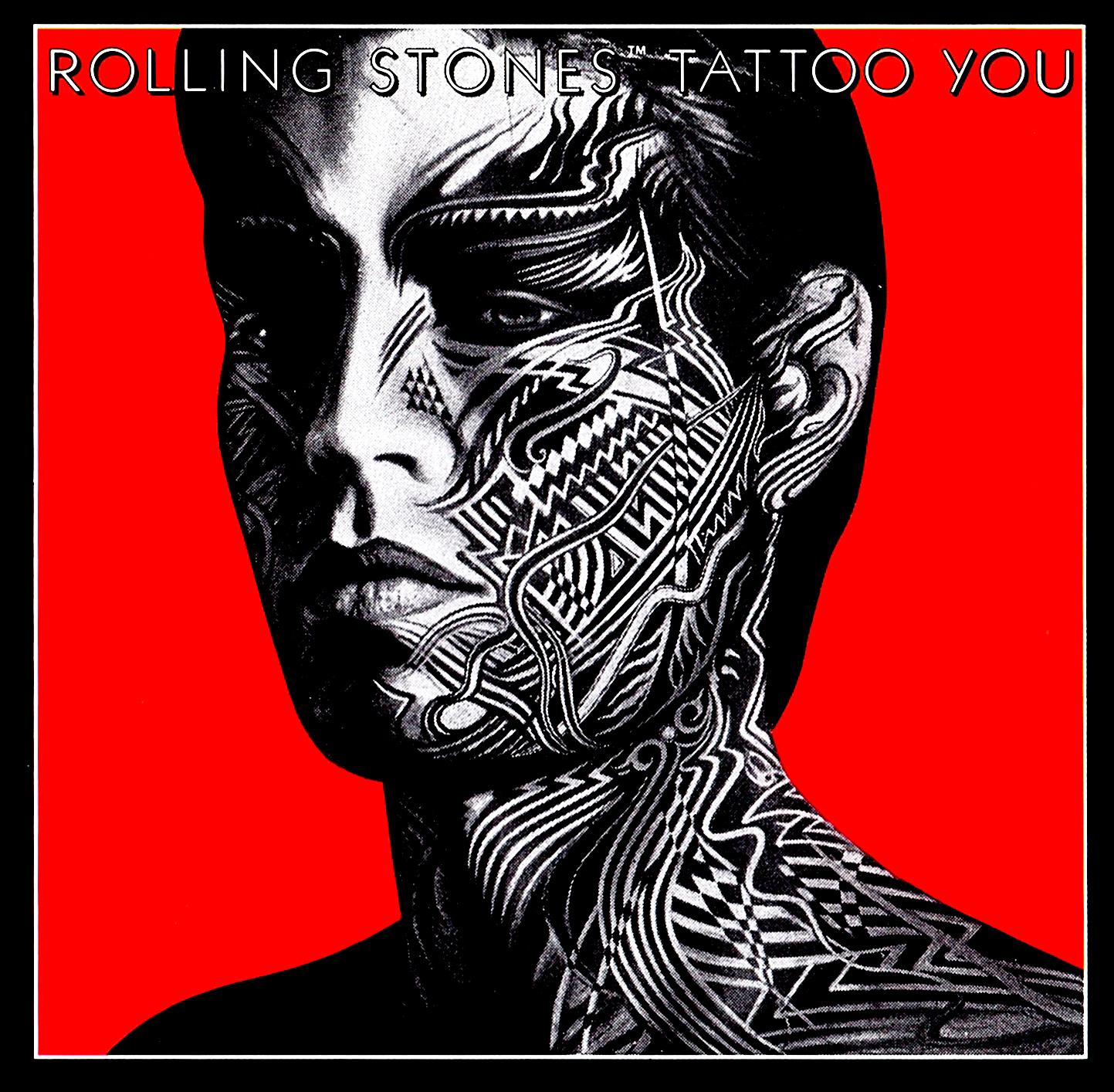 The Rolling Stones (ザ・ローリング・ストーンズ) アルバム『Tatoo You (刺青の男)』(1981年8月24日発売) 高画質CDジャケット画像 (ジャケ写)