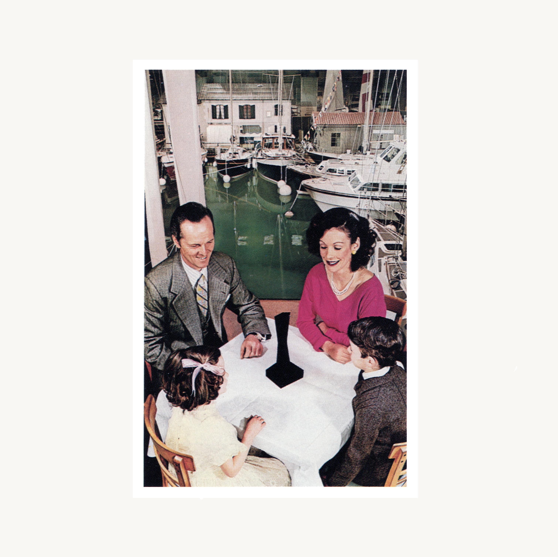 LED ZEPPELIN (レッド・ツェッペリン) 7thアルバム『Presence (プレゼンス)』(1976年3月31日発売) 高画質CDジャケット画像 (ジャケ写)