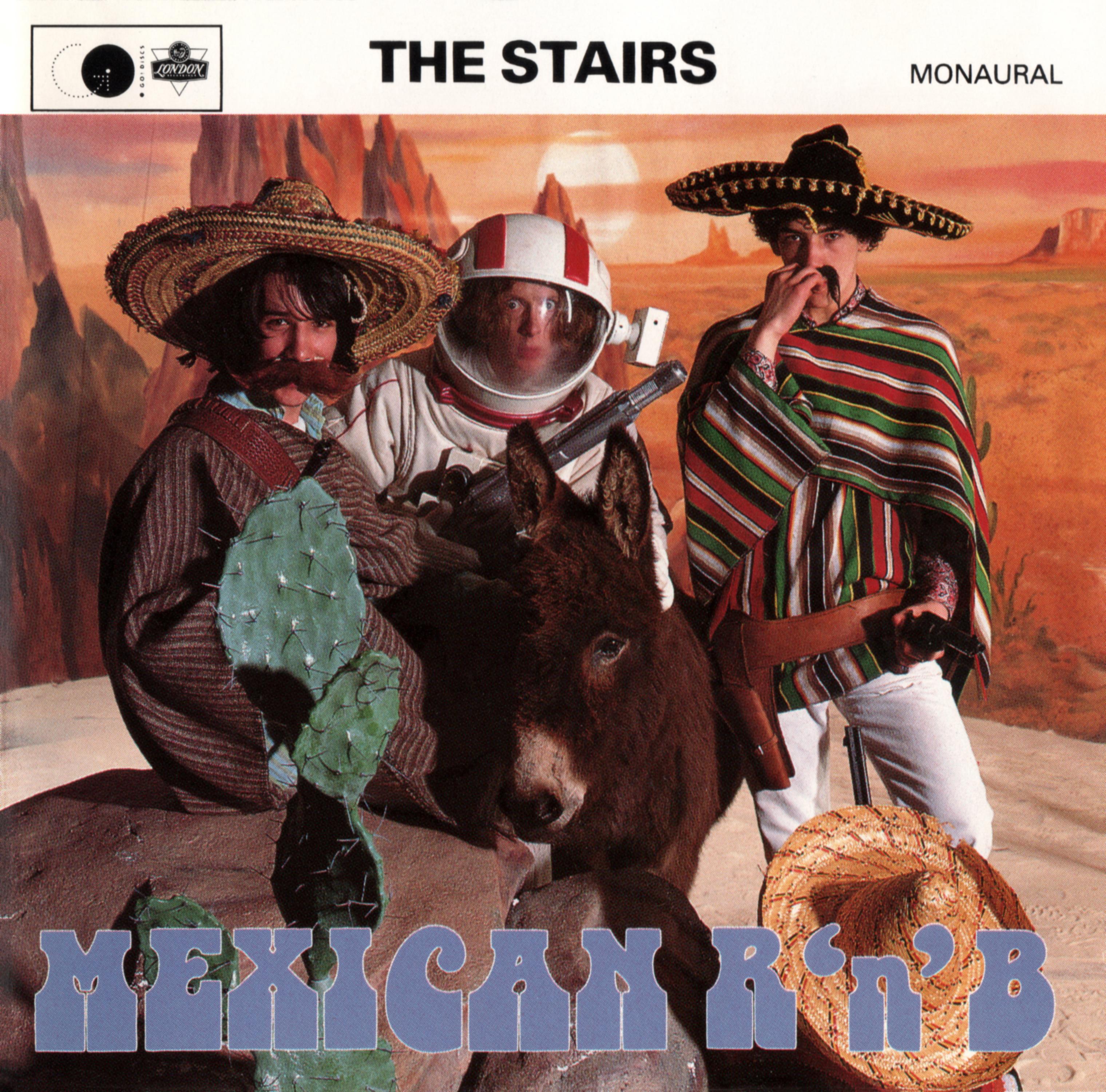 THE STAIRS (ザ・ステアーズ) 1stアルバム『Mexican R'n'B (メキシカンR&B)』(1992年6月1日発売) 高画質CDジャケット画像 (ジャケ写)