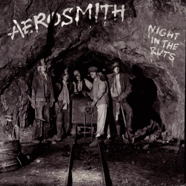 Aerosmith (エアロスミス) 6thアルバム『Night in the Ruts (ナイト・イン・ザ・ラッツ)』(1979年発売) 高画質ジャケット画像 (ジャケ写)