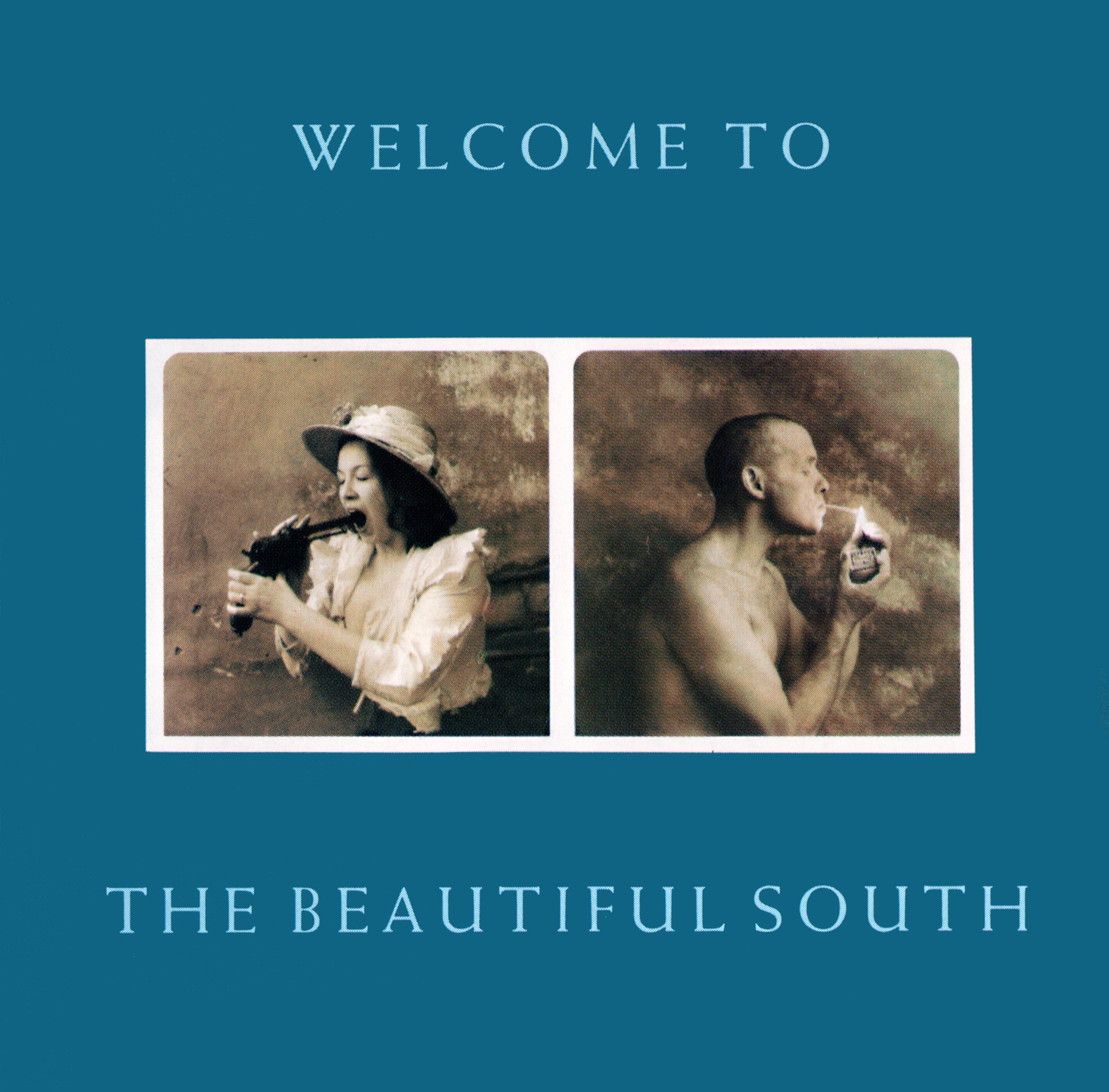 The Beautiful South (ビューティフル・サウス)』1stアルバム『Welcome To The Beautiful South (ウェルカム・トゥ・ザ・ビューティフル・サウス)』(再発盤) 高画質CDジャケット画像 (ジャケ写)