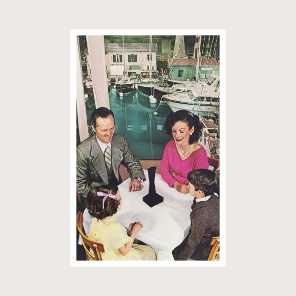 LED ZEPPELIN (レッド・ツェッペリン) 7thアルバム『Presence (プレゼンス)』(1976年3月31日発売) 高画質ジャケット画像 (ジャケ写)