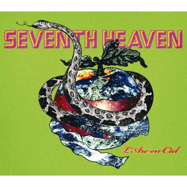 L'Arc〜en〜Ciel (ラルク アン シエル) 30thシングル『SEVENTH HEAVEN (セヴンス ヘヴン)』(2007年5月30日発売) 高画質ジャケット画像 (ジャケ写)