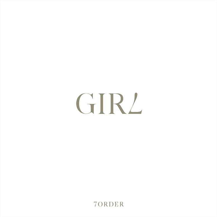 7ORDER (セブンオーダー) 配信シングル『GIRL (ガール)』(2020年5月22日発売) 高画質CDジャケット画像 (ジャケ写)