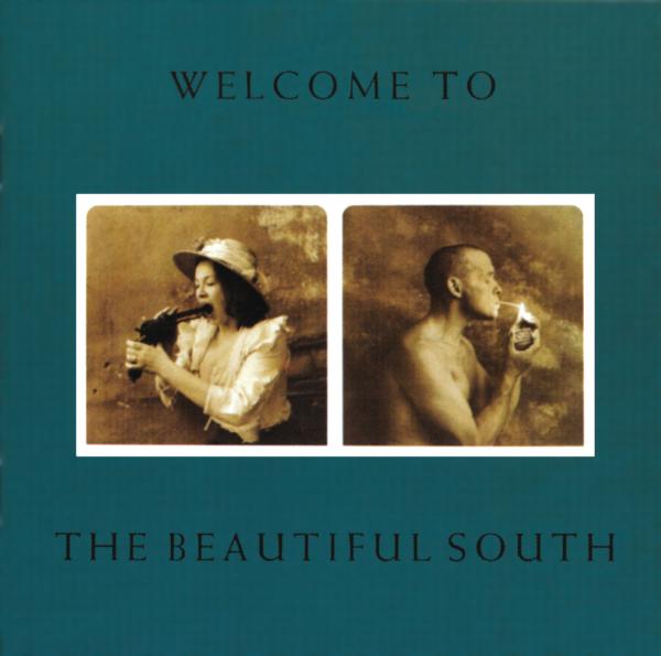 The Beautiful South (ビューティフル・サウス)』1stアルバム『Welcome To The Beautiful South (ウェルカム・トゥ・ザ・ビューティフル・サウス)』(1989年発売) 高画質CDジャケット画像 (ジャケ写)