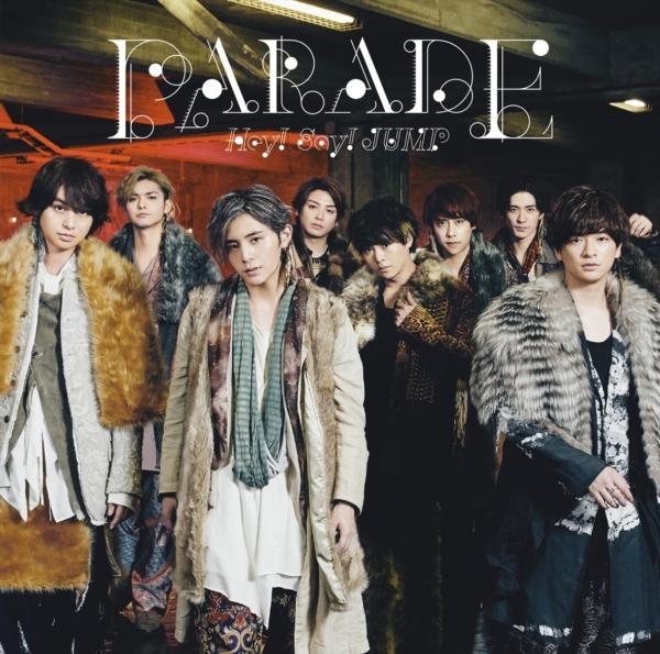 Hey! Say! JUMP (ヘイ セイ ジャンプ) 7thアルバム『PARADE (パレード)』(通常盤) 高画質CDジャケット画像 (ジャケ写)