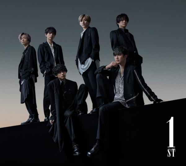 SixTONES (ストーンズ) 1stアルバム『1ST (ファースト)』(初回盤A:原石盤) 高画質CDジャケット画像 (ジャケ写)