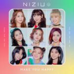 NiziU (ニジュー) プレデビューデジタルミニアルバム『Make you happy (メイクユーハッピー)』(2020年6月30日発売) 高画質ジャケット画像 (ジャケ写)