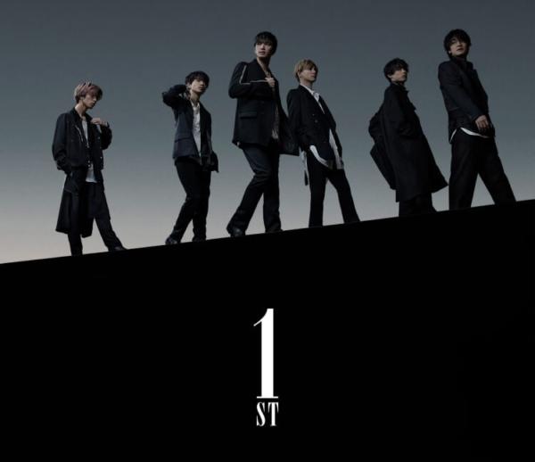 SixTONES (ストーンズ) 1stアルバム『1ST (ファースト)』(通常盤初回仕様スリーブケース) 高画質CDジャケット画像 (ジャケ写)