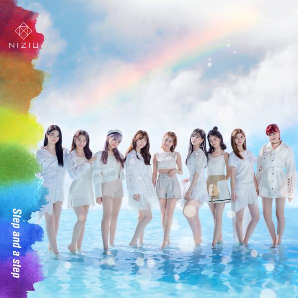 NiziU (ニジュー) 1stシングル『Step and a step (ステップ・アンド・ア・ステップ)』(2020年12月2日発売) 高画質ジャケット画像 (ジャケ写)