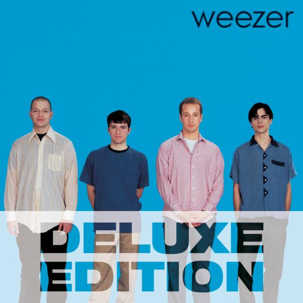 weezer (ウィーザー) 1stアルバム『weezer ウィーザー (The Blue Album ザ・ブルー・アルバム)』(Deluxe Edition) 高画質ジャケット画像 (ジャケ写)