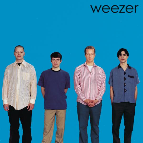 weezer (ウィーザー) 1stアルバム『weezer ウィーザー (The Blue Album ザ・ブルー・アルバム)』(1995年3月24日発売) 高画質ジャケット画像 (ジャケ写)