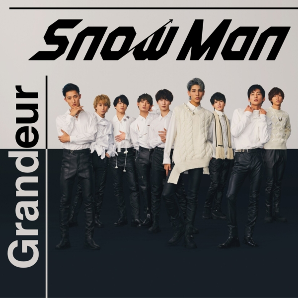 Snow Man (スノーマン) 3rdシングル『Grandeur (グランドール)』(初回盤A) 高画質CDジャケット画像 (ジャケ写)
