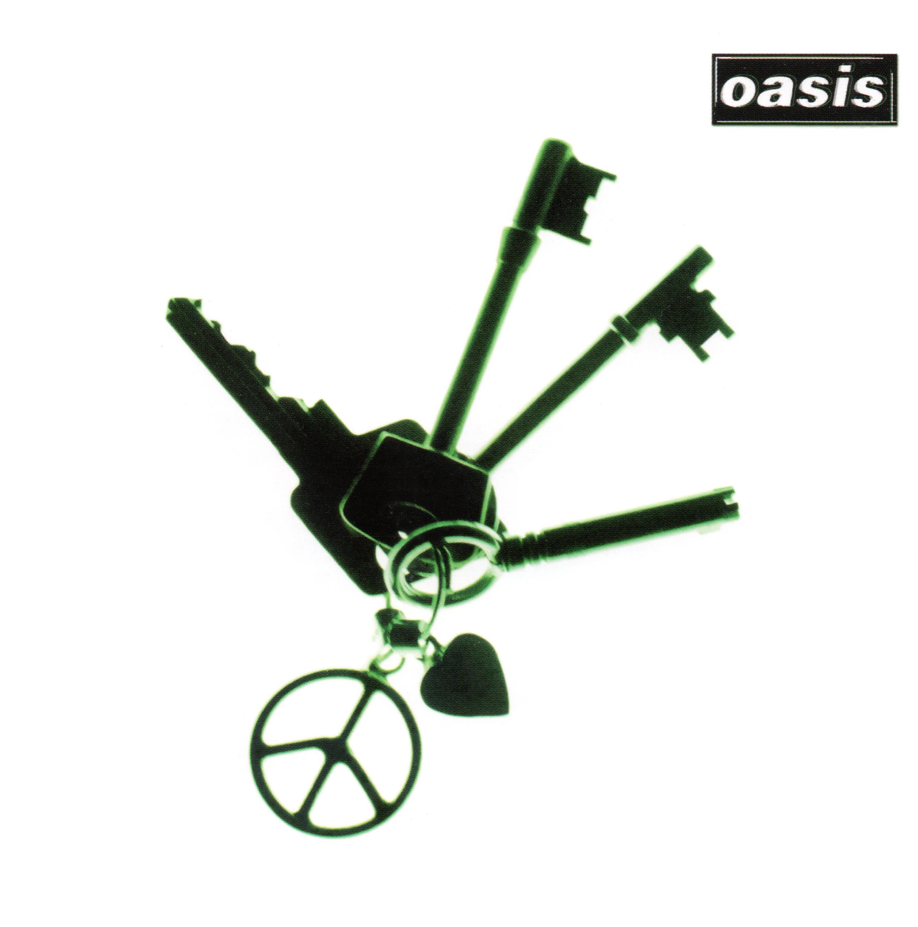 oasis (オアシス) シングル『Let There Be Love (レット・ゼア・ビー・ラヴ)』(2005年12月21日発売) 高画質CDジャケット画像 (ジャケ写)