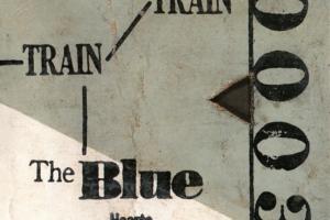 THE BLUE HEARTS (ザ・ブルーハーツ) 3rdアルバム『TRAIN-TRAIN (トレイン トレイン)』(1988年11月23日発売) 高画質CDジャケット画像 (ジャケ写)