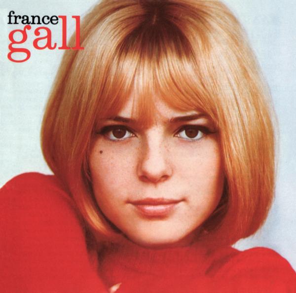 France Gall (フランス・ギャル) ベスト・アルバム『France Gall (夢みるシャンソン人形 フランス・ギャル・ベスト)』(1993年12月20日発売) 高画質CDジャケット画像 (ジャケ写)