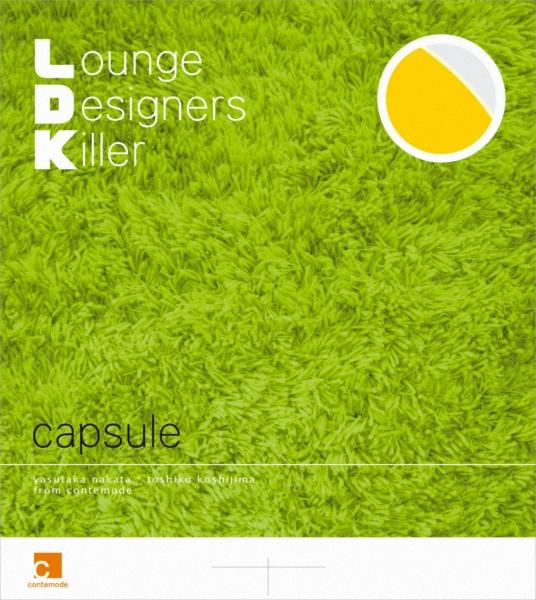 capsule (カプセル) 6thアルバム『L.D.K. Lounge Designers Killer』(2005年9月21日発売) 高画質CDジャケット画像 (ジャケ写)