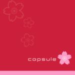 capsule (カプセル) 1stシングル『さくら』(2001年3月28日発売) 高画質CDジャケット画像 (ジャケ写)